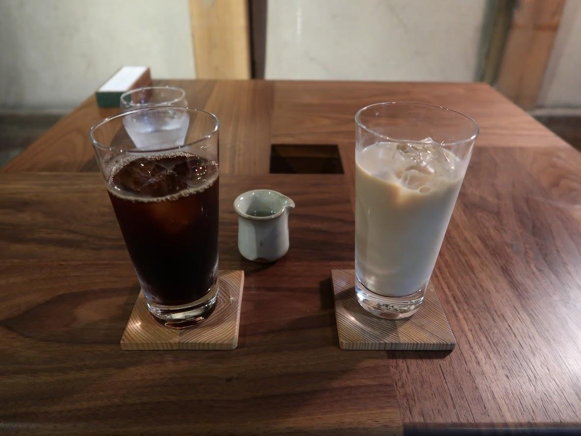 カフェももとせのコーヒー