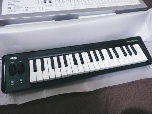 DTM初心者におすすめbluetooth MIDIキーボード「KORG microKEY Air37」レビュー